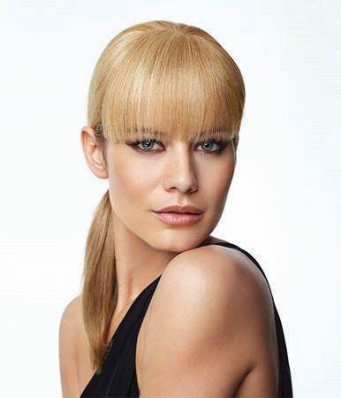 100% Human Hair Bang